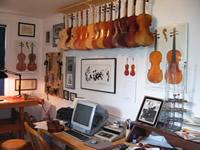 Gary Frisch Violins Logo